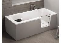 Акриловая ванна AVO для пожилых