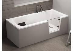 Акриловая ванна AVO для пожилых 00012 160x75
