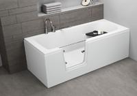 Ванна акриловая Polimat Vovo 180x80 00016 белая