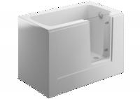 Акриловая ванна 130 х 75 PERE белая