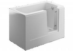 Акриловая ванна 130 х 75 PERE белая 00100