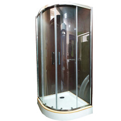 Душевая кабина Veronis KN-3-100 PREMIUM Прозрачное с поддоном