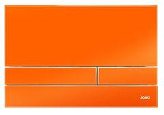 Клавиша для инсталляции Werit Jomo Exclusive 2.1 стекло - оранжевый глянцевый 167-37002001-00