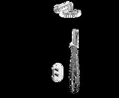Душевая система KOLLER POOL с термостатом скрытого монтажа CTR023