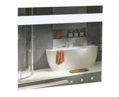 Зеркало Аква Родос Элит 80 см с LED подсветкой АР0002698