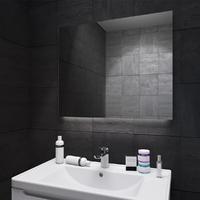 Зеркало для ванной комнаты с подсветкой Sanwerk ГЛОВЕ МОНЕ 100*65 ZG0000139