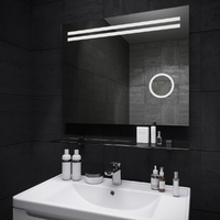 Зеркало для ванной комнаты Sanwerk ЛАВА ДЕЛЛА 100*65 ZL0000129