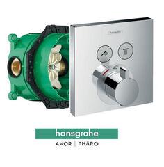 Смеситель для душа HANSGROHE Shower Select 15763000 со скрытой частью IBOX Universal 01800180