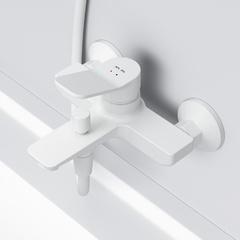 Смеситель для ванны и душа AM.PM белый X-Joy F85A10033