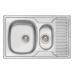 Кухонная мойка Qtap 7850-B Micro Decor 0,8 мм (QT7850BMICDEC08)