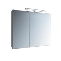 Зеркальный шкафчик Marsan с LED подсветкой Therese-2 650х800х150