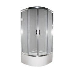 Душевая кабина Devit Nymfa FEN311GDEV 1/4 круга 90х90 см, стекло серое с поддоном