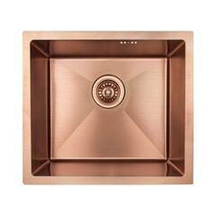 Кухонная мойка из нержавеющей стали Imperial D4843BR PVD bronze Handmade 2.7/1.0 mm IMPD4843BRPVDH10