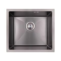 Кухонная мойка из нержавеющей стали Imperial D4843BL PVD black Handmade 2.7/1.0 mm IMPD4843BLPVDH10