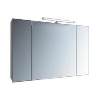 Зеркальный шкафчик Marsan с LED подсветкой Therese-4 650х900х150