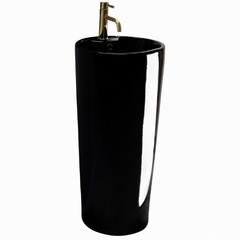 Умывальник Rea Blanka 40x40 черный (REA-U6635)