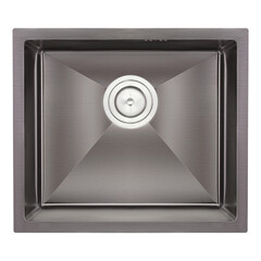 Кухонная мойка Qtap D4843BL 2.71.0 мм (QTD4843BLPVD2710)