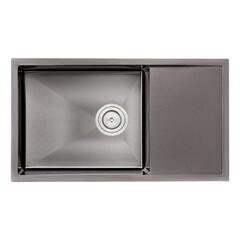 Кухонная мойка Q-tap D7844BL 3.0/1.2 мм (QTD7844BLPVD12)