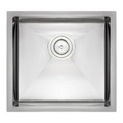 Кухонная мойка QT D4843 2.7/1.0 mm кухонная мойка (интегрированная) Satin QTD484310