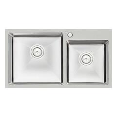 Кухонная мойка Q-tap S7843 2.7/1.0 мм (QTS784310)