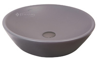 Умывальник Isvea SistemaY Soft 45x45 антрацит матовый (10SY66045 Anthracite)