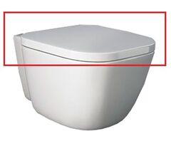 Крышка для унитаза RAK Ceramics ONE ONSC00004/N