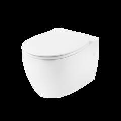 Унитаз напольный DEVIT Acqua с сиденьем Soft Close дюропласт 3020155