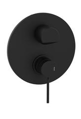 Смеситель скрытый GRB Time Black (На 3 потребителя) черный матовый 47145472
