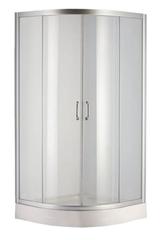 Душевая кабина Devit Nymfa 90х90 (Профиль - хром, стекло - матовое) FEN0301PDEV