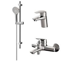 Комплект смесителей для ванной комнаты (F9010000+F9002100+F0190000)