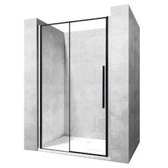 Душевая дверь Rea Solar 120x195 безопасное стекло, прозрачное (REA-K6312)