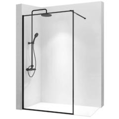 Душевая стенка Rea Bler 90 безопасное стекло, прозрачное (REA-K7636)