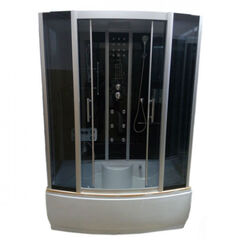 Душевой бокс Atlantis 170х85х215 AKL 1107-A (GR)