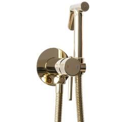 Гигиенический душ Rea LOOP L. GOLD со смесителем, золото REA-B8979