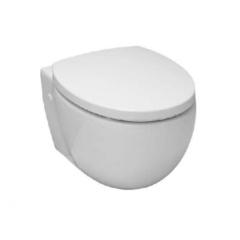 Унитаз подвесной сидение белое обычное Globo PAS03BI+PA020