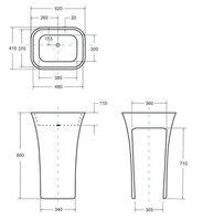 Унитаз-компакт Am Pm Bliss L C538607SC с быстросъемным сиденьем с микролифтом