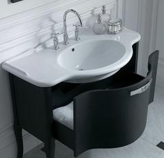 Умывальник консоль и мебельный шкаф Globo PA022BIPATL22