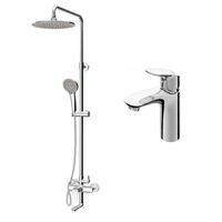 Комплект смесителей для ванной комнаты (F8093000+F0780900)