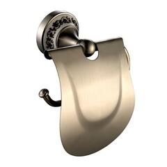 Держатель туалетной бумаги с крышкой Kraus KEA-16526BN