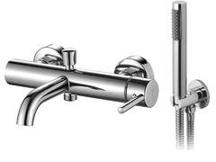 Смеситель для ванны Rea Lungo chrome с ручным душем (REA-B6641)