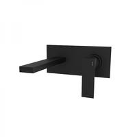 Смеситель для умывальника скрытого монтажа GRB Black 60530601 черный