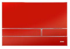 Клавиша для инсталляции Werit Jomo Exclusive 2.1 стекло - красный глянцевый 167-37001240-00