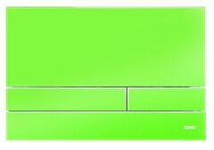 Клавиша для инсталляции Werit Jomo Exclusive 2.1 стекло - зеленый глянцевый 167-37001260-00