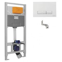 Инсталляции для унитаза Imprese 3 в 1 i9109 (клавиша PANI белая)