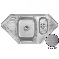 Кухонная мойка двойная Imperial 9550-С Decor IMP9550CDECD