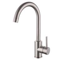 Смеситель для кухни LOTTA сталь, IMPRESE 55401-SS