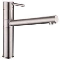 Смеситель для кухни LOTTA сталь, IMPRESE 55402-SS