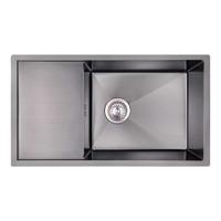 Кухонная мойка из нержавеющей стали Imperial D7844BL PVD black Handmade 3.0/1.2 mm