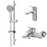 Комплект смесителей для ванной комнаты (F8010000+F8093000+F0180000)