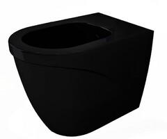 Биде напольное Bocchi Taormina Arch черный глянцевый 1019-005-0120